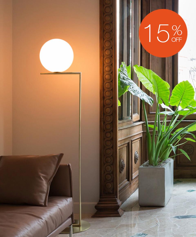 IC F2 FLOOR LAMP BY FLOS