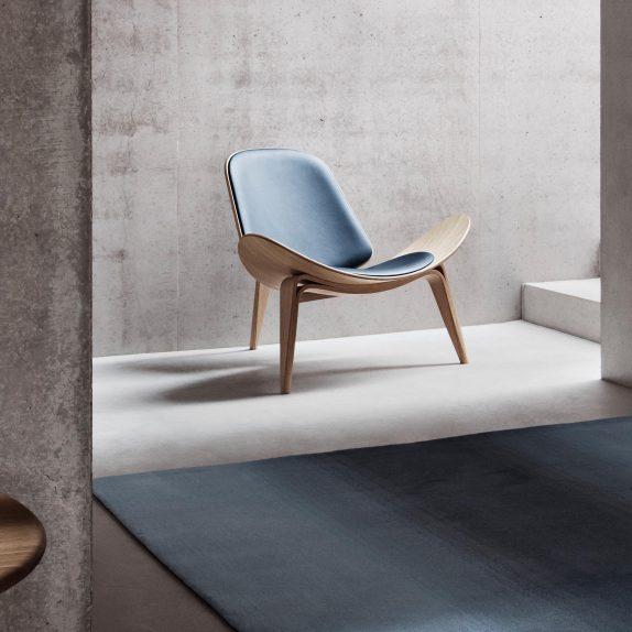 1. CH07 Shell Chair by Carl Hansen