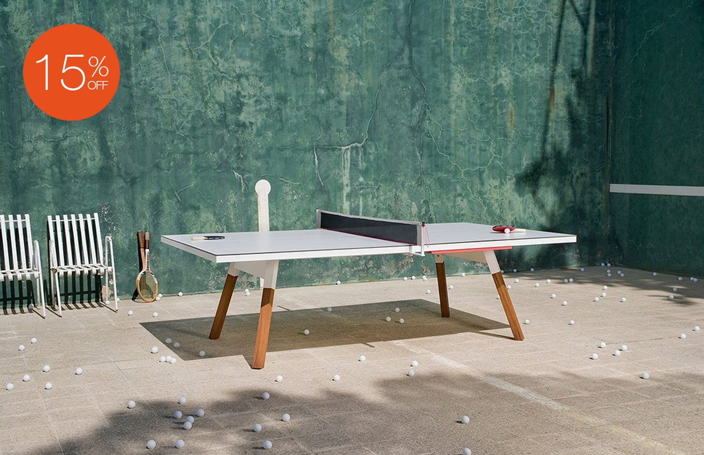 YOU AND ME TABLE TENNIS TABLE BY RS BARCELONA