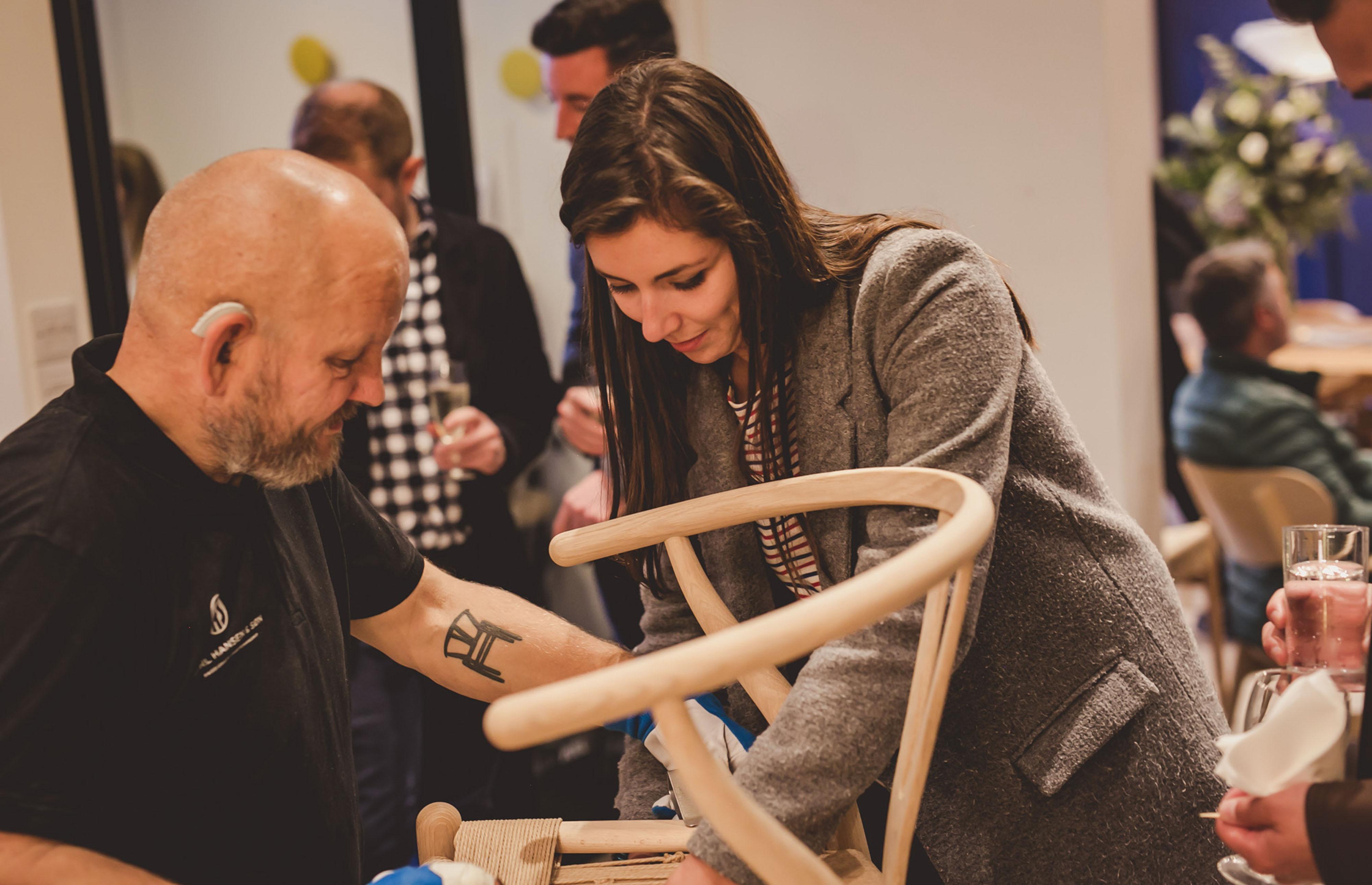 Carl Hansen Showroom Exhibition5