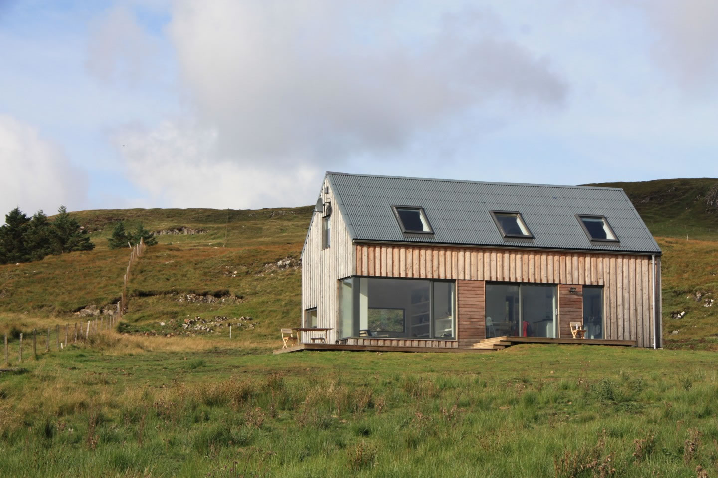 Timber House Isle of Skye Holiday House Rental Mountains