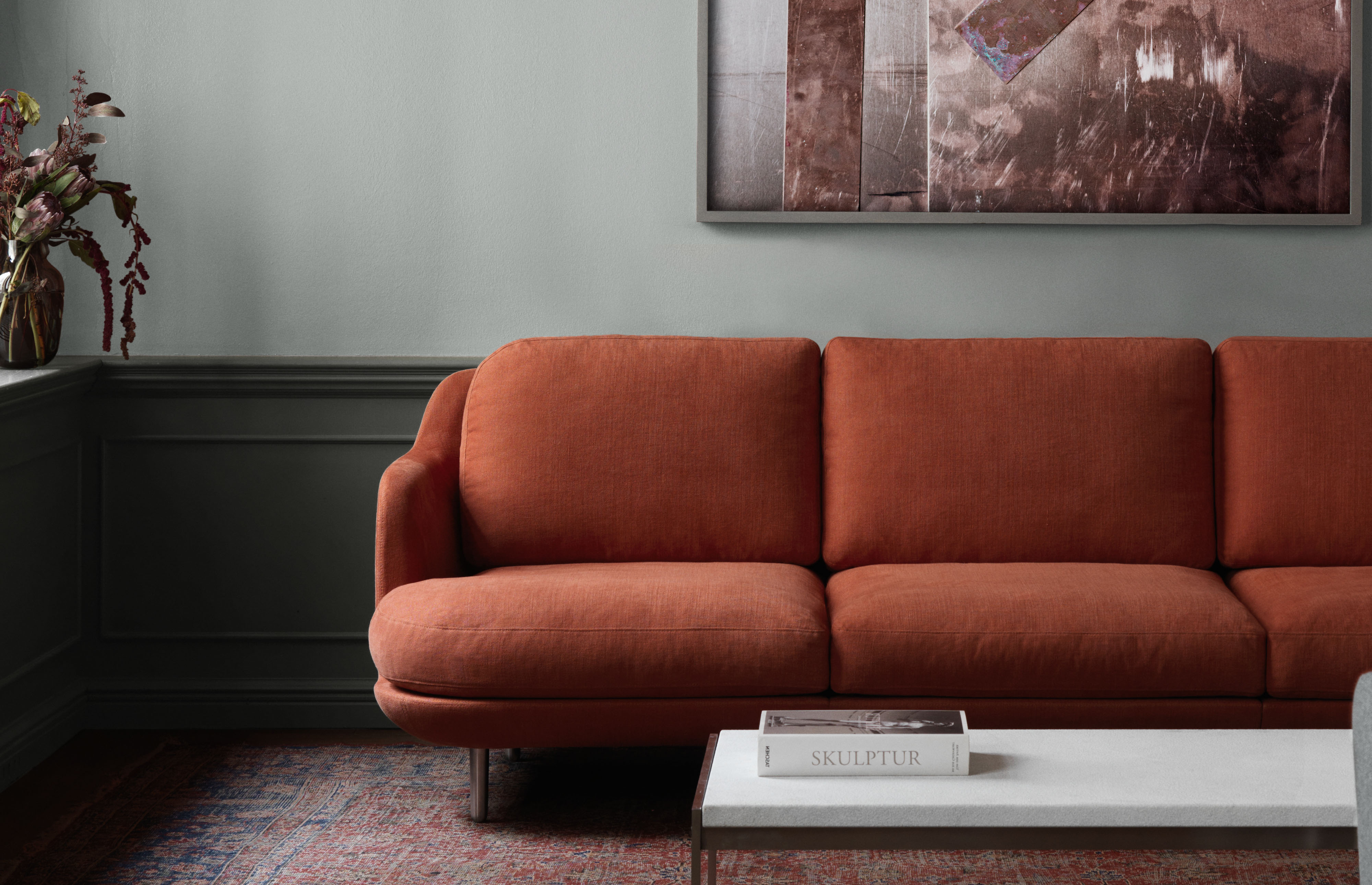 LUNE SOFA BY FRITZ HANSEN