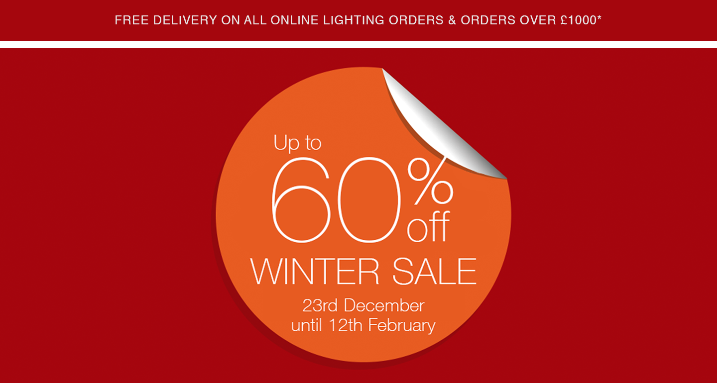 UP TO 60% OFF – WINTER SALE
