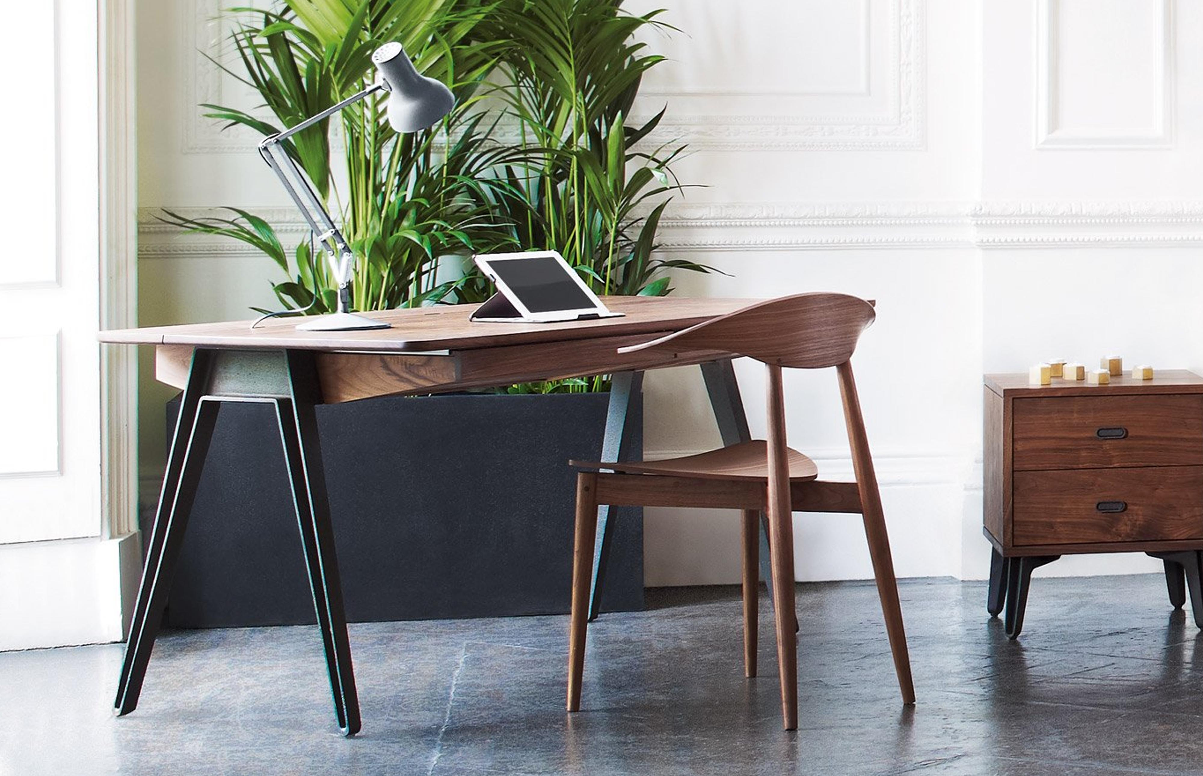 The Orson Desk by Matthew Hilton, for De La Espad