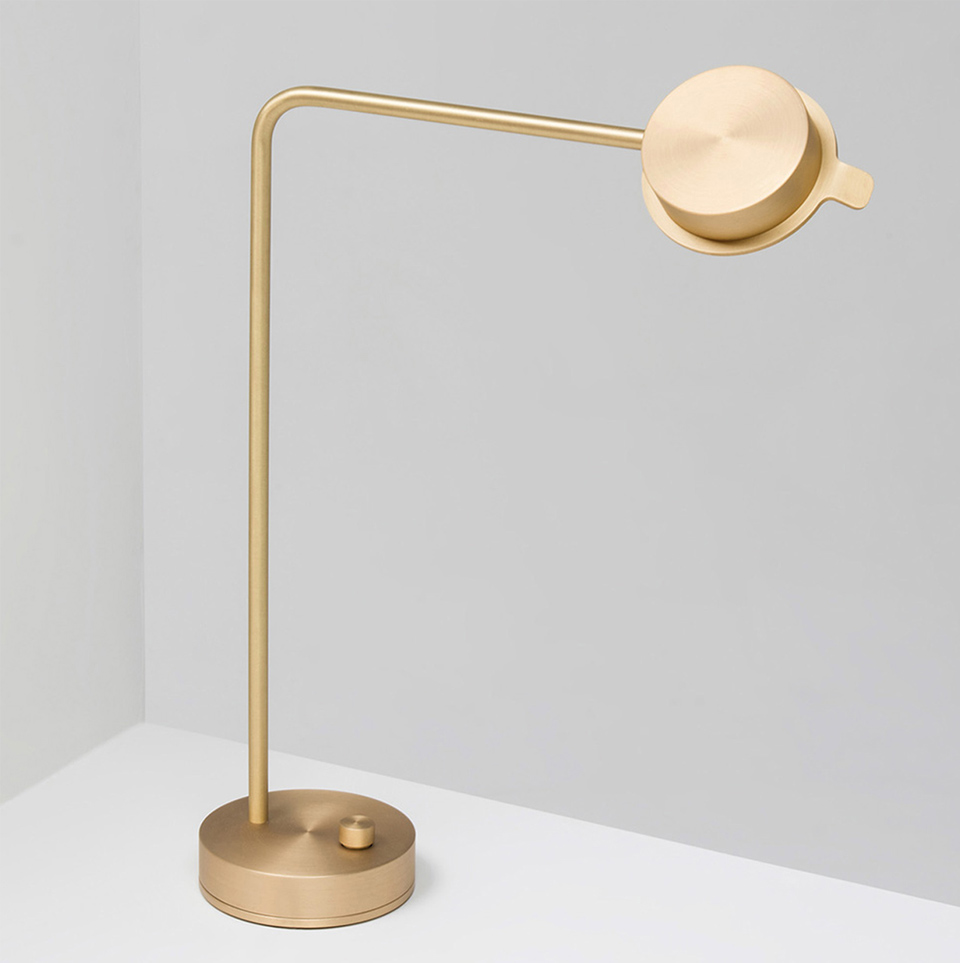 CHIPPERFIELD TABLE BRASS LAMP BY WÄSTBERG