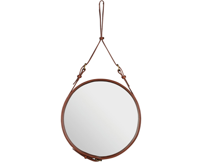ADNET CIRCULAIRE MIRROR TAN BY GUBI