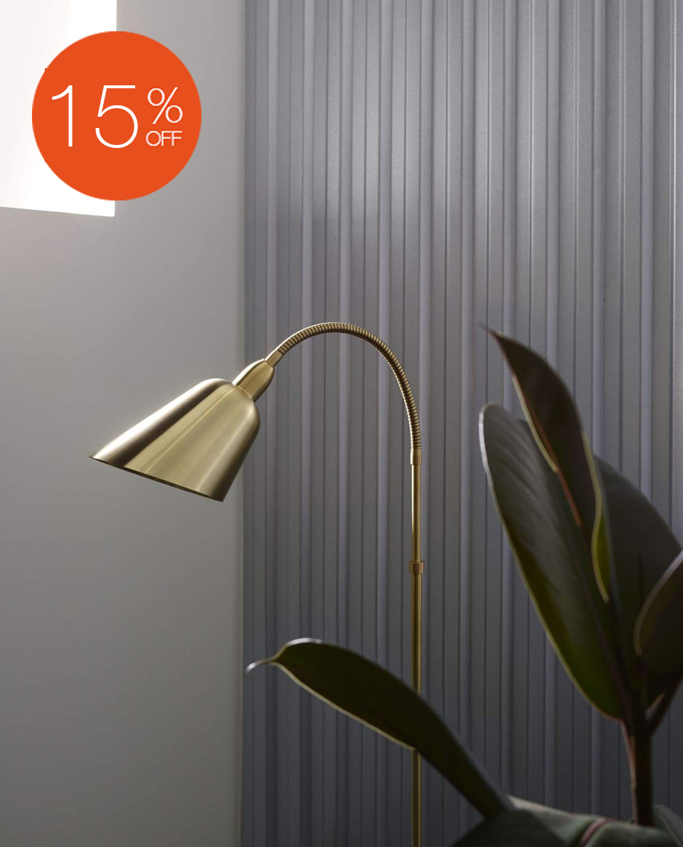 BELLEVUE AJ7 FLOOR LAMP BY &TRADITION
