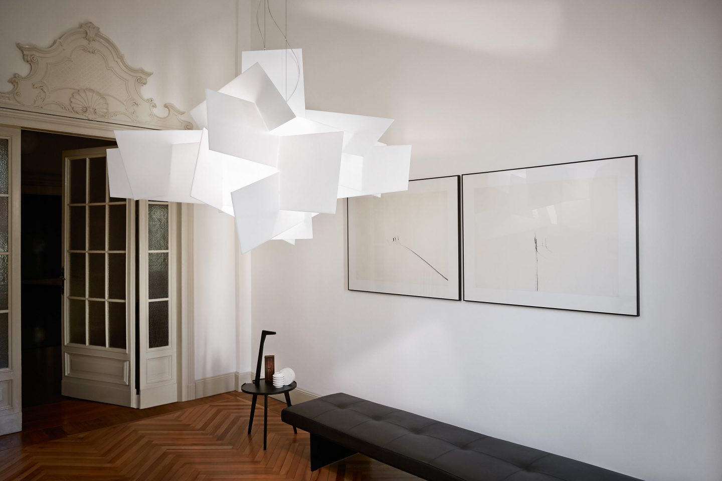 BIG BANG CEILING LIGHT BY FOSCARINI