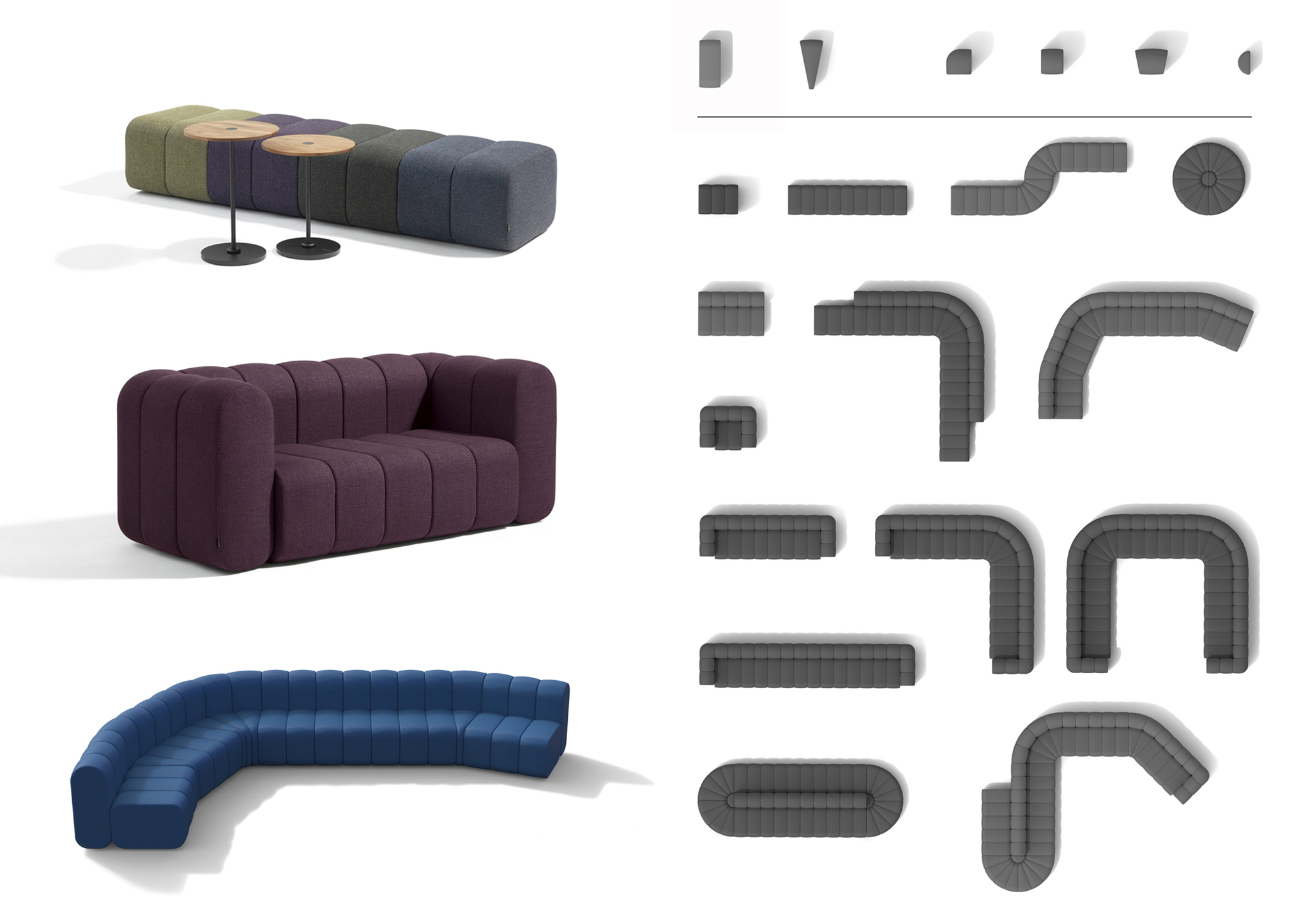 Bob Sofa Modular Seating