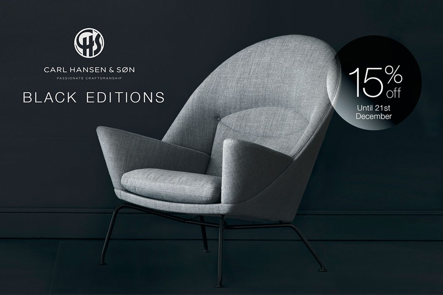 BLACK EDITIONS BY CARL HANSEN
