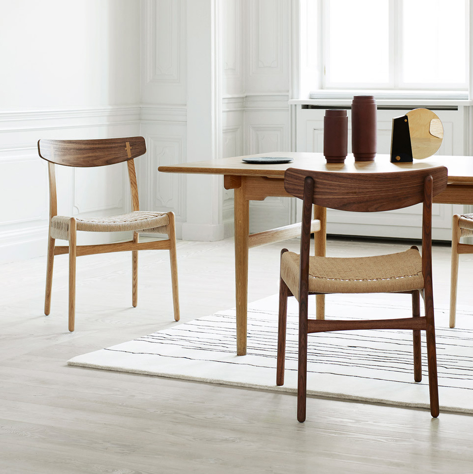 CH23 DINING CHAIR BY CARL HANSEN