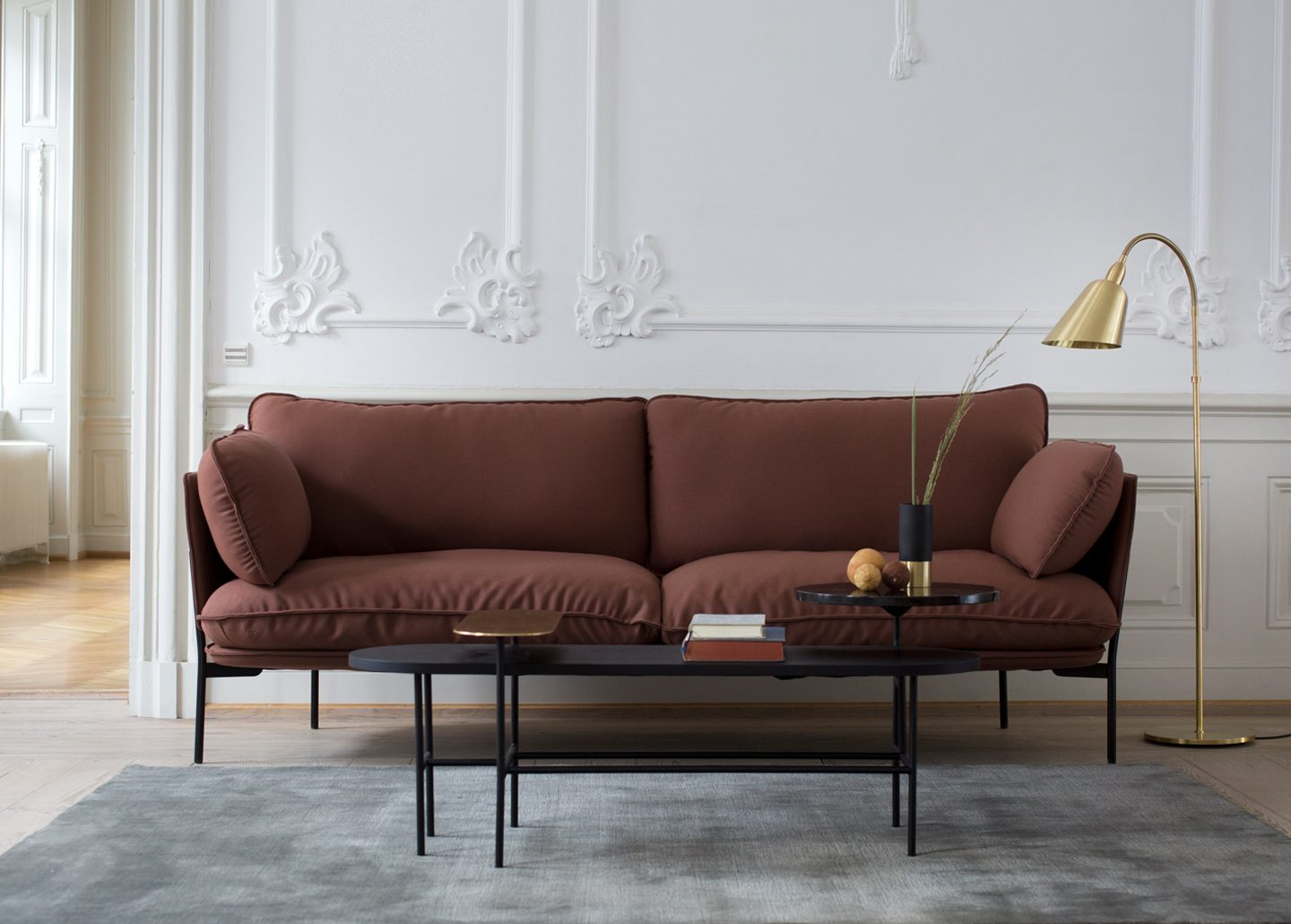 CLOUD THREE SEATER SOFA BY &TRADITION