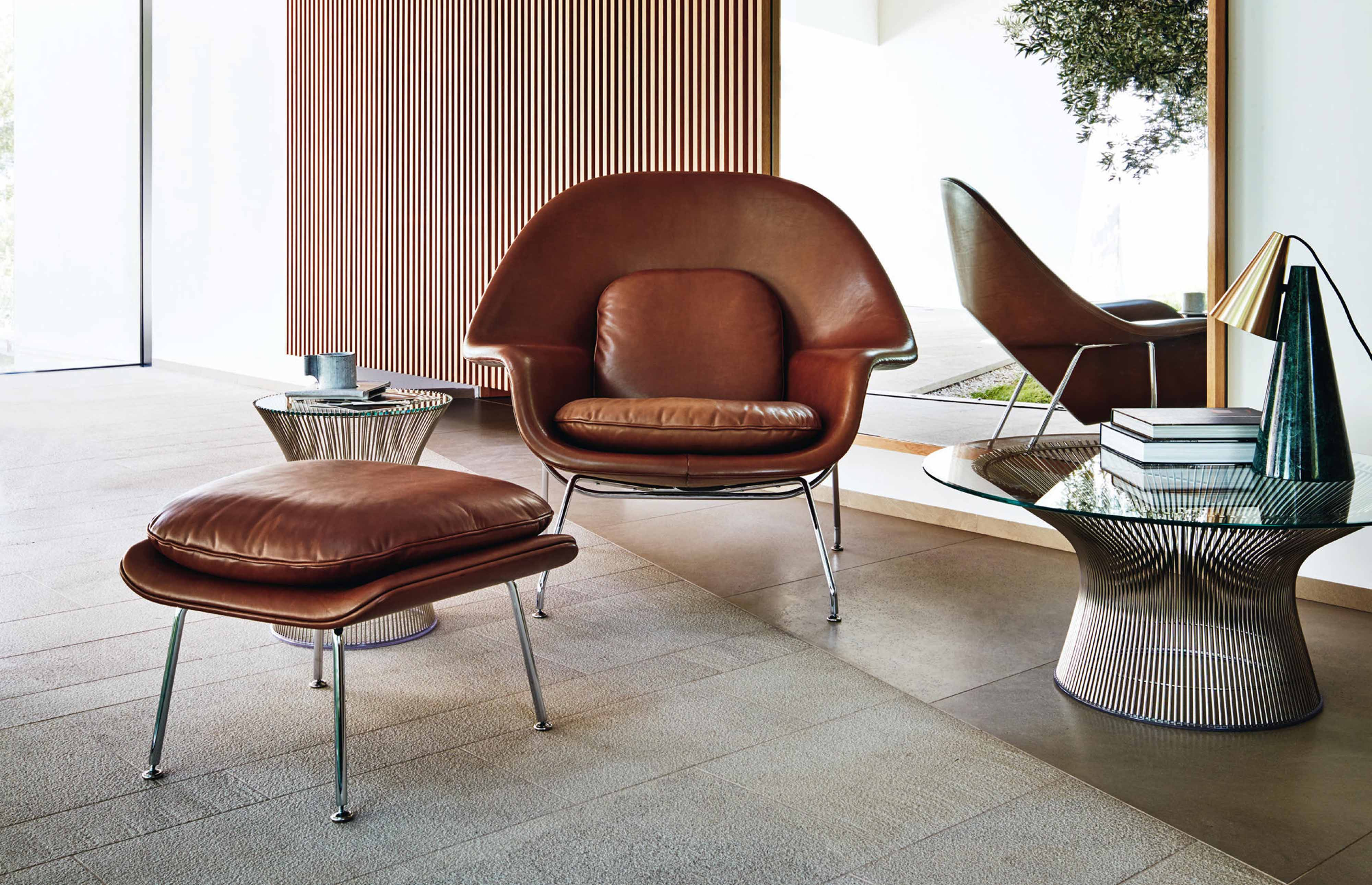 knoll-dealer-womb-chair-leather