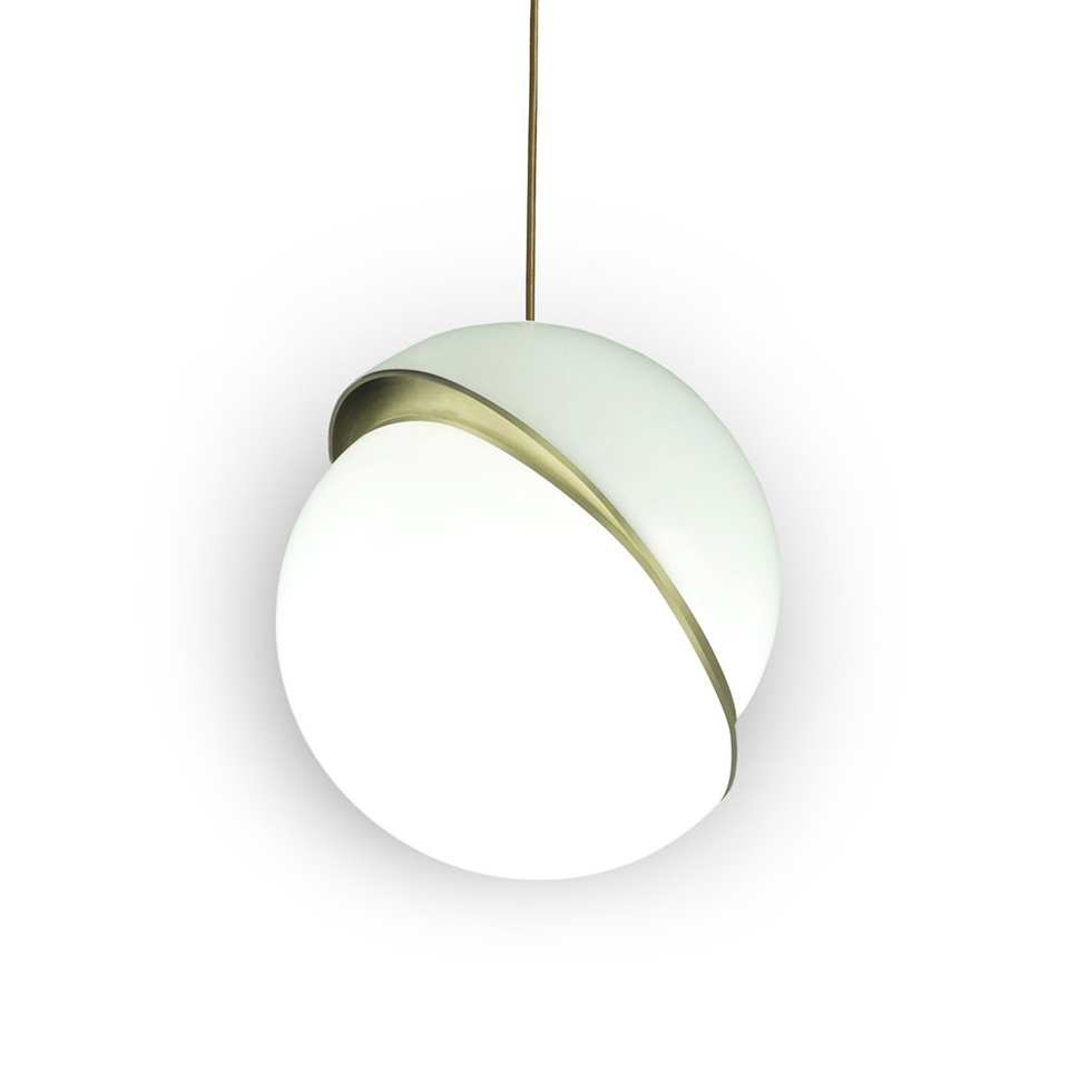 CRESCENT PENDANT LIGHT BY LEE BROOM