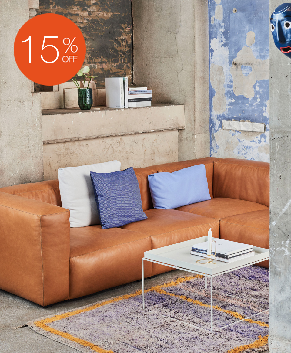 MAGS SOFT MODULAR SOFA BY HAY