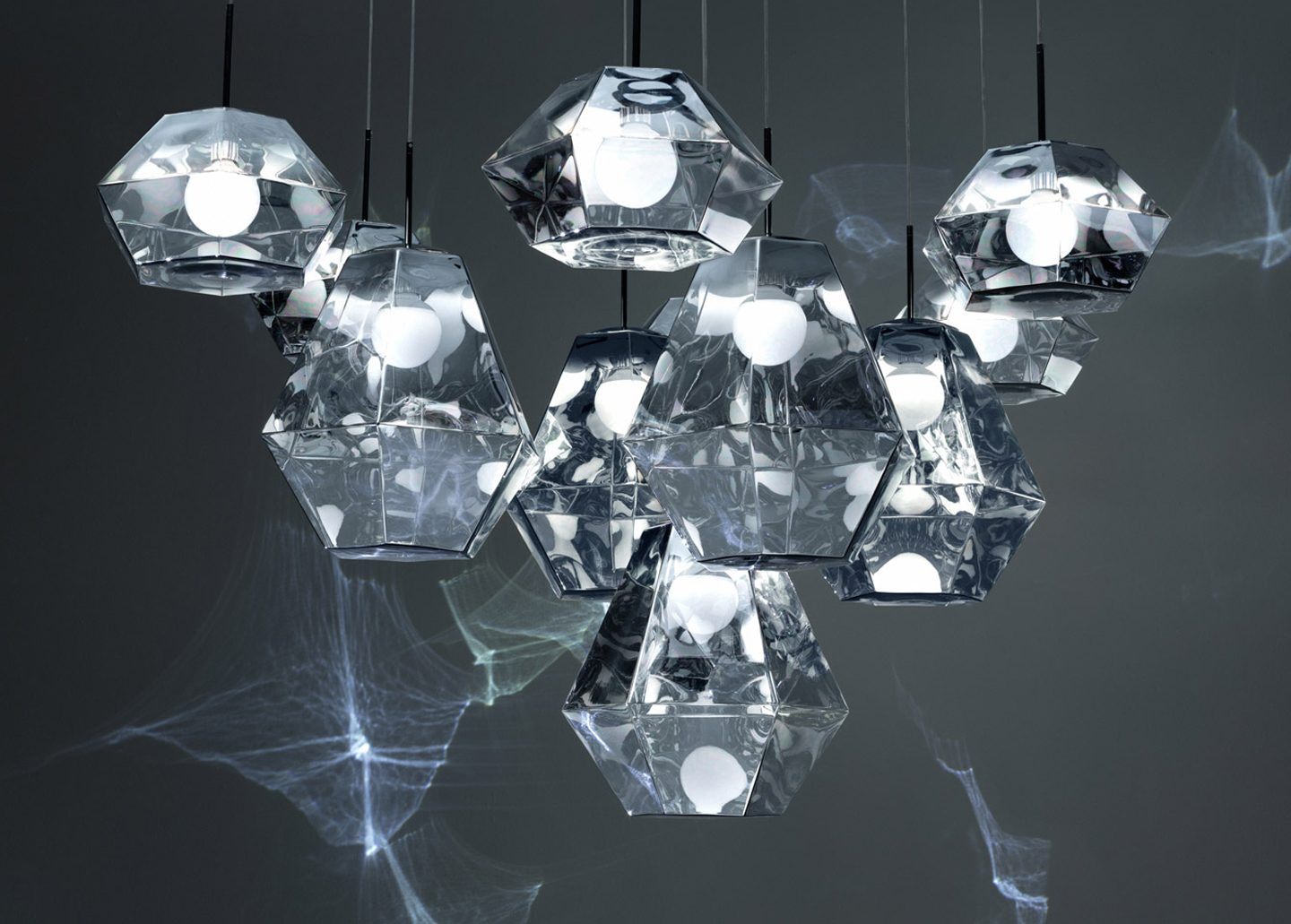 CUT PENDANT LONG BY TOM DIXON