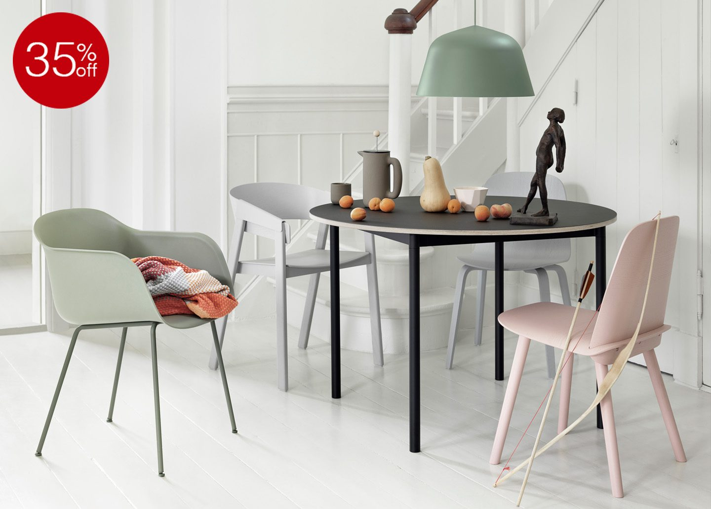 35% OFF BASE TABLE EX-DISPLAY BY MUUTO