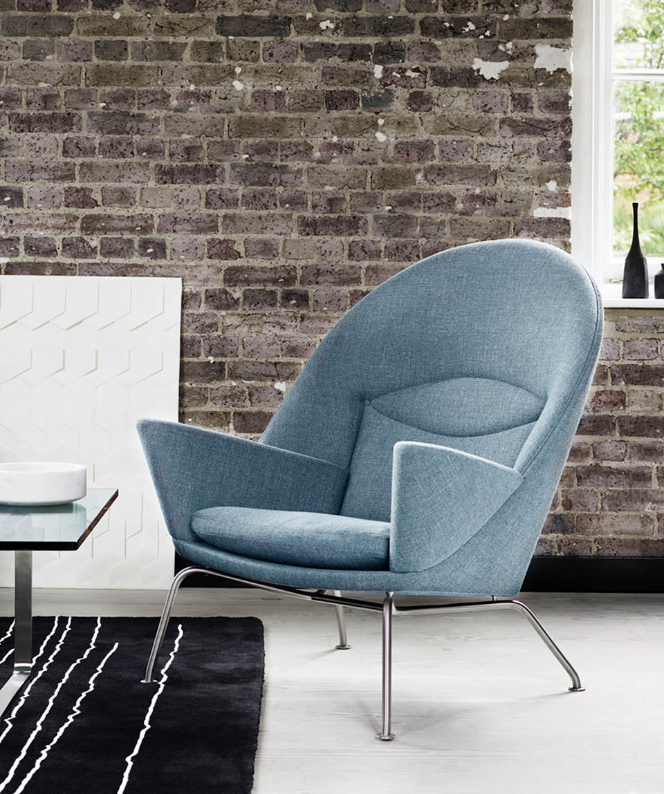 CH468 OCULUS CHAIR FABRIC BY CARL HANSEN