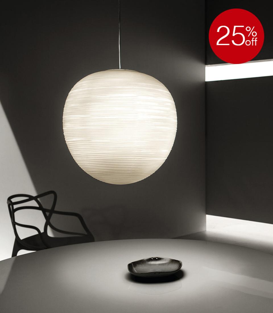 25% OFF RITUALS XL SUSPENSION LIGHT BY FOSCARINI
