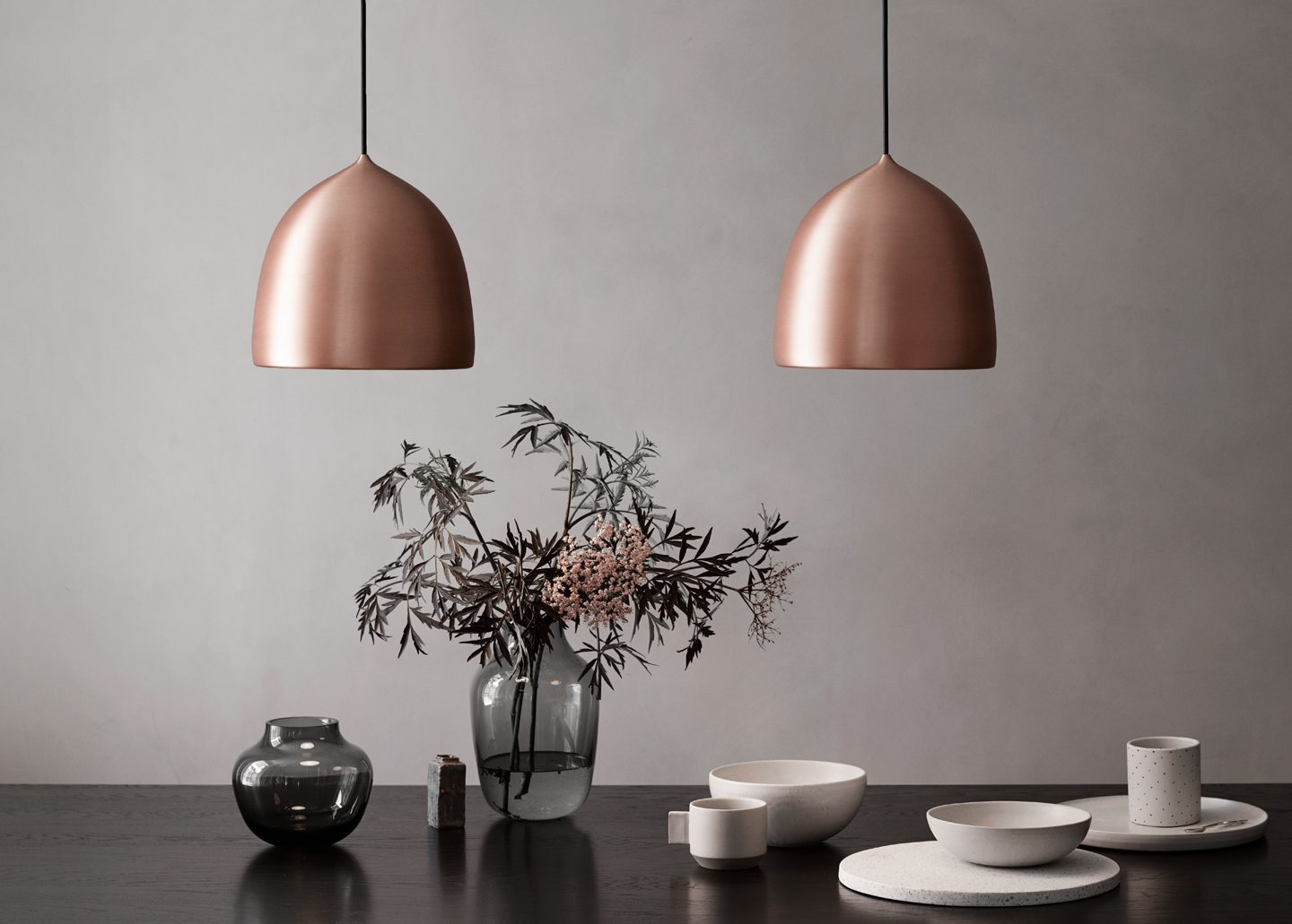 SUSPENSE PENDANT LIGHT COPPER BY LIGHTYEARS