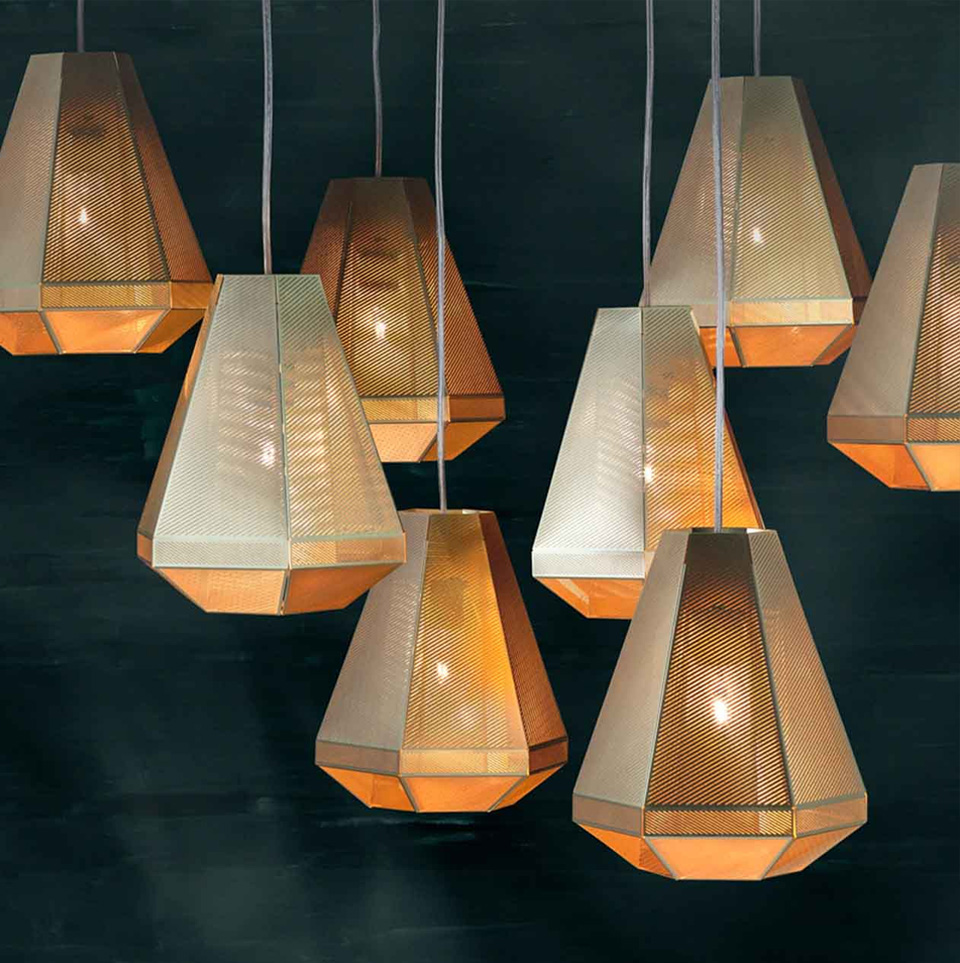 CELL TALL PENDANT LIGHT BY TOM DIXON