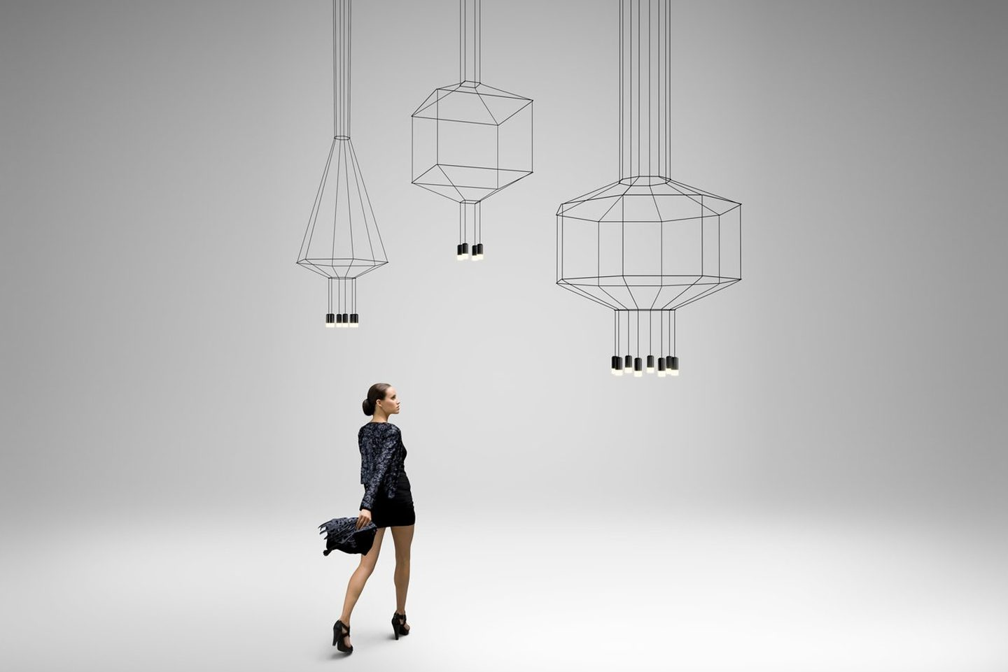WIREFLOW SUSPENSION LIGHT BY VIBIA