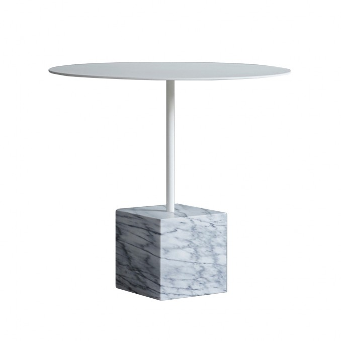 Knockout Side Table Square Base