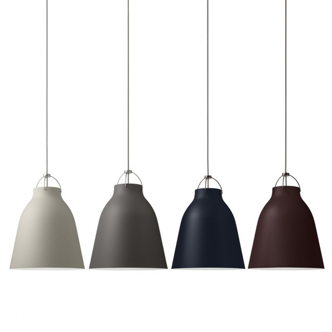 Caravaggio Pendant Light Matt Tones