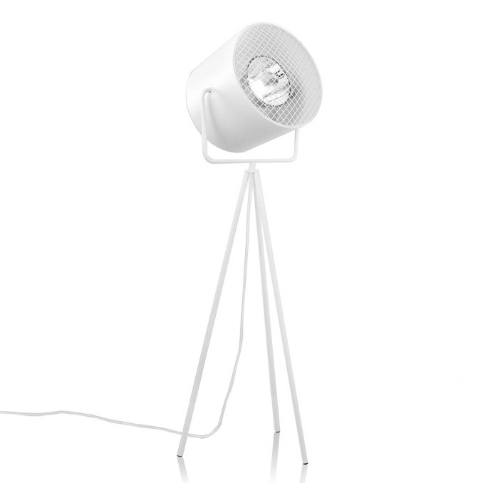 Last Floor Lamp White