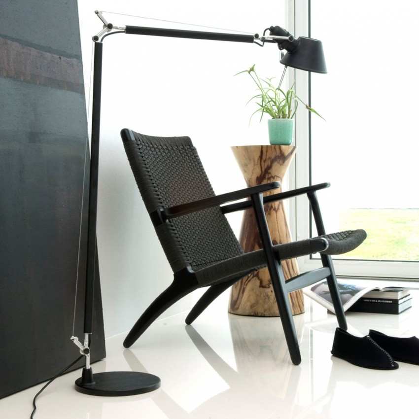 CH25 Lounge Chair - Black Edition getAlt(image, i)}